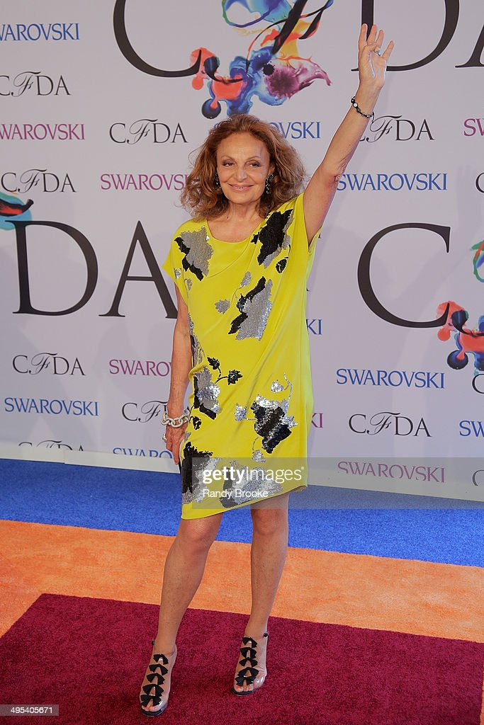Diane Von Furstenberg attends at Alice Tully Hall, Lincoln Center on June 2, 2014 in New York City.