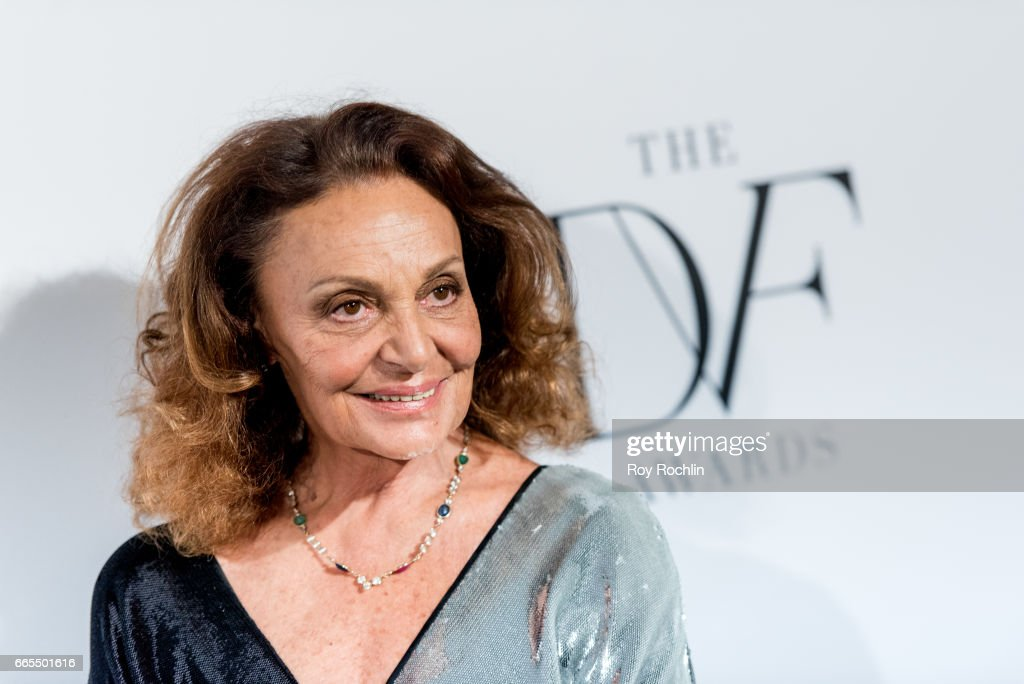 Diane von Furstenberg attends the 2017 DVF Awards at United Nations on April 6, 2017 in New York City.