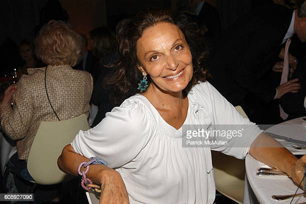 Diane von Furstenberg attends VANITY FAIR Tribeca Film Festival Party hosted by Graydon Carter and Robert DeNiro at The State Supreme Courthouse on...