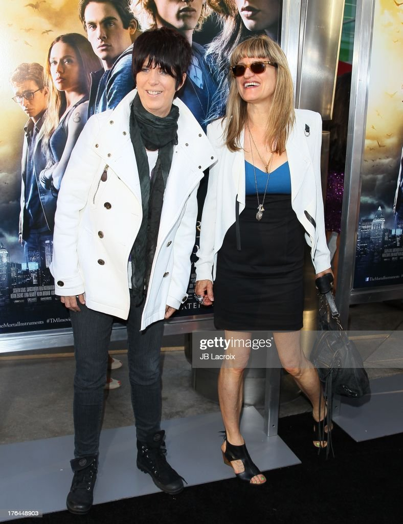 Diane Warren and Catherine Hardwicke attend 'The Mortal Instruments: City Of Bones' Los Angeles premiere held at ArcLight Cinemas Cinerama Dome on August 12, 2013 in Hollywood, California.