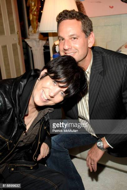 Diane Warren and Michael Anthony attend Mayor Antonio Villaraigosa celebrates Nikki Haskell's Birthday at Sierra Towers on May 17th 2010 in West...