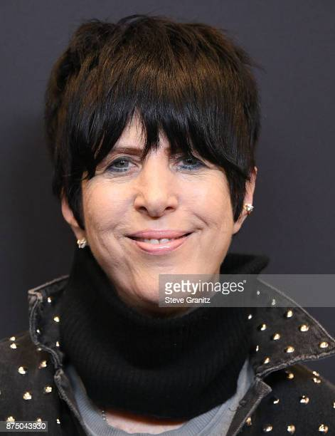 Diane Warren arrives at the Hollywood Foreign Press Association And InStyle Celebrate The 75th Anniversary Of The Golden Globe Awards at Catch LA on...