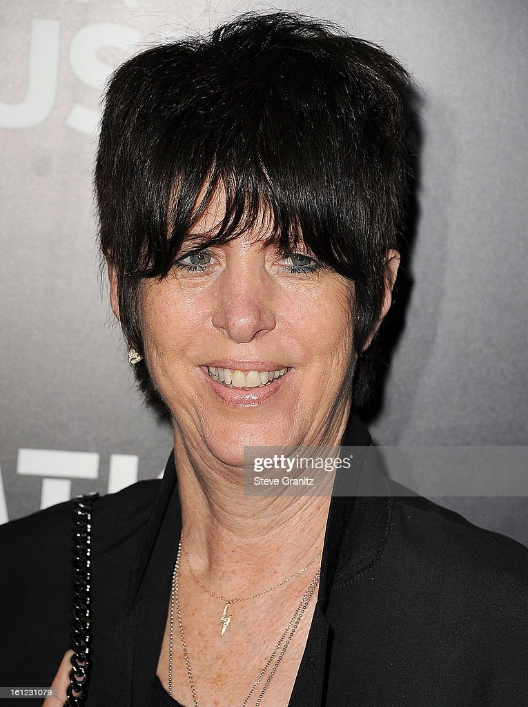 Diane Warren arrives at the Roc Nation Pre-GRAMMY Brunch at Soho House on February 9, 2013 in West Hollywood, California.