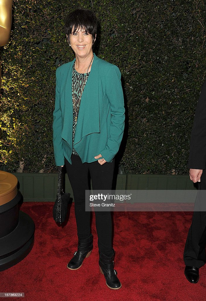 Diane Warren arrives at the The Academy Of Motion Pictures Arts And Sciences' Governors Awards at The Ray Dolby Ballroom at Hollywood & Highland Center on December 1, 2012 in Hollywood, California.