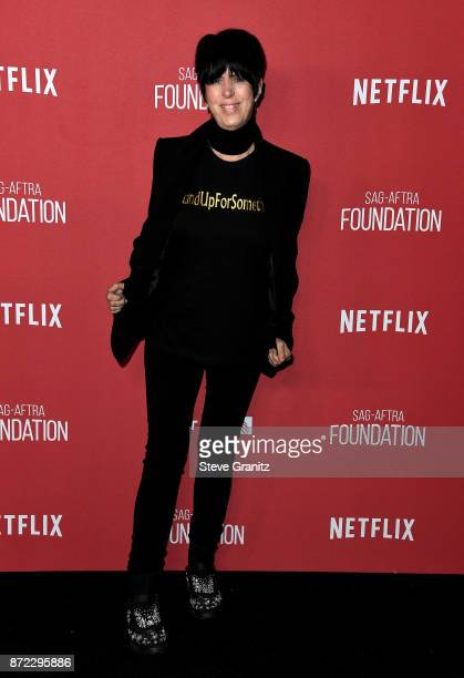 Diane Warren attends the SAGAFTRA Foundation Patron of the Artists Awards 2017 at the Wallis Annenberg Center for the Performing Arts on November 9...