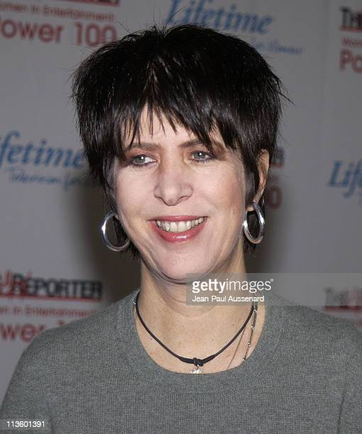 Diane Warren during The Hollywood Reporter's Annual Women in Entertainment Power 100 Breakfast Arrivals at Beverly Hills Hotel in Beverly Hills...