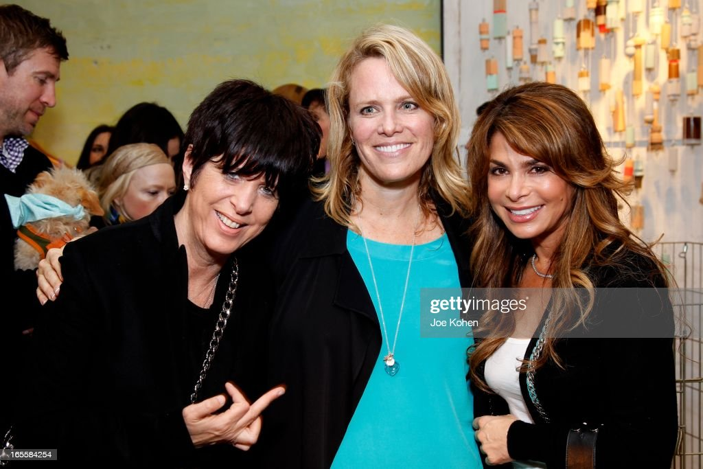 <a gi-track='captionPersonalityLinkClicked' href=/galleries/search?phrase=Diane+Warren&family=editorial&specificpeople=234753 ng-click='$event.stopPropagation()'>Diane Warren</a>, Lisa Erspamer, and <a gi-track='captionPersonalityLinkClicked' href=/galleries/search?phrase=Paula+Abdul&family=editorial&specificpeople=202119 ng-click='$event.stopPropagation()'>Paula Abdul</a> attend 'A Letter To My Dog: Notes To Our Best Friends' Cocktail Party And Book Signing at Anthropologie on April 4, 2013 in Beverly Hills, California.