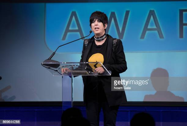 Diane Warren speaks at the 2nd Annual Critic's Choice Documentary Awards on November 2 2017 in New York City