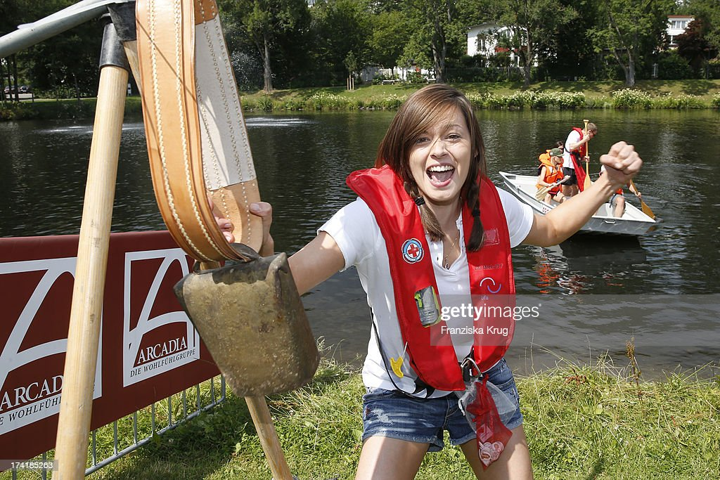 Diane Willems attends the Charity Event Benefitting Flood Victims on July 20, 2013 in Grafenau, Germany.