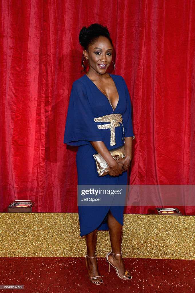 Dianhe Parish attends the British Soap Awards 2016 at Hackney Empire on May 28, 2016 in London, England.