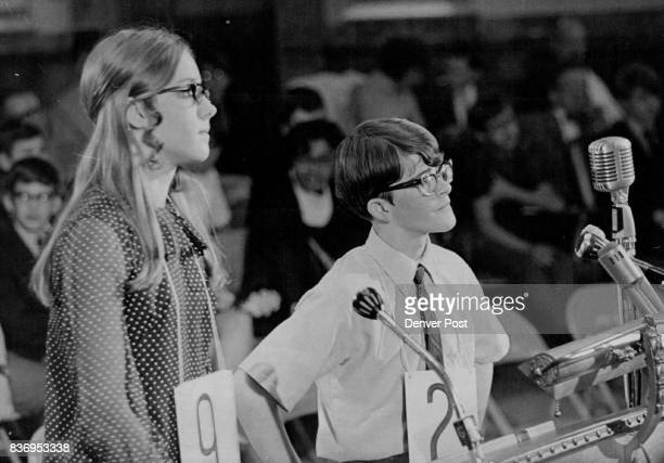 L Diann Schneider Byres Jr High Runnerup 1969 Spelling Bee Scott Crandell 12 1581 S Dexter Way Credit Denver Post