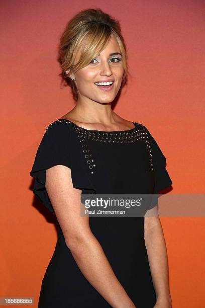 Dianna Agron arrives at the 2013 Whitney Gala and Studio Party at Skylight at Moynihan Station on October 23 2013 in New York City