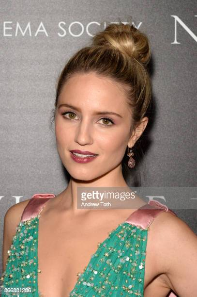 Dianna Agron attends a screening of Sony Pictures Classics' 'Novitiate' hosted by The Cinema Society at The Landmark at 57 West on October 26 2017 in...