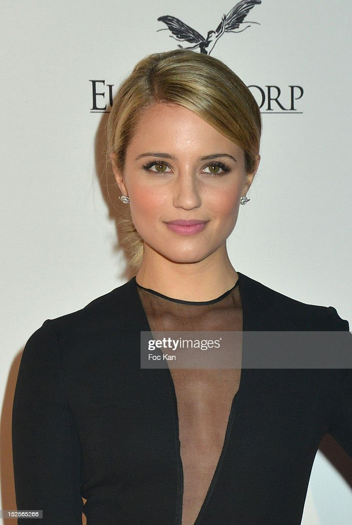 Dianna Agron attends 'La Cite Du Cinema' Launch - Red Carpet at Saint Denis on September 21, 2012 in Paris, France.