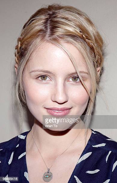 Dianna Agron attends Talent Manager Mara Santino's Birthday Party at Lucky Strike Bowling Alley on January 10 2010 in Hollywood California