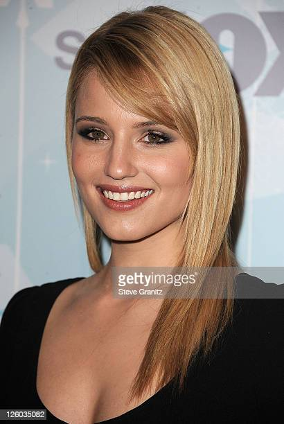 Dianna Agron attends the 2011 Fox AllStar Party at Villa Sorriso on January 11 2011 in Pasadena California