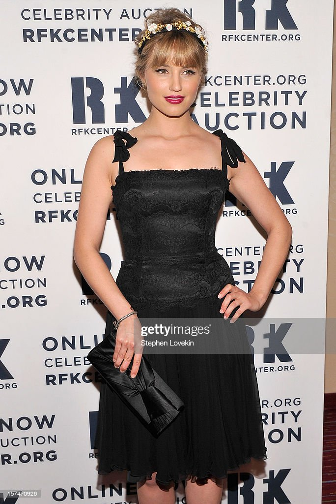 Dianna Agron attends the 2012 Ripple Of Hope Gala at The New York Marriott Marquis on December 3, 2012 in New York City.