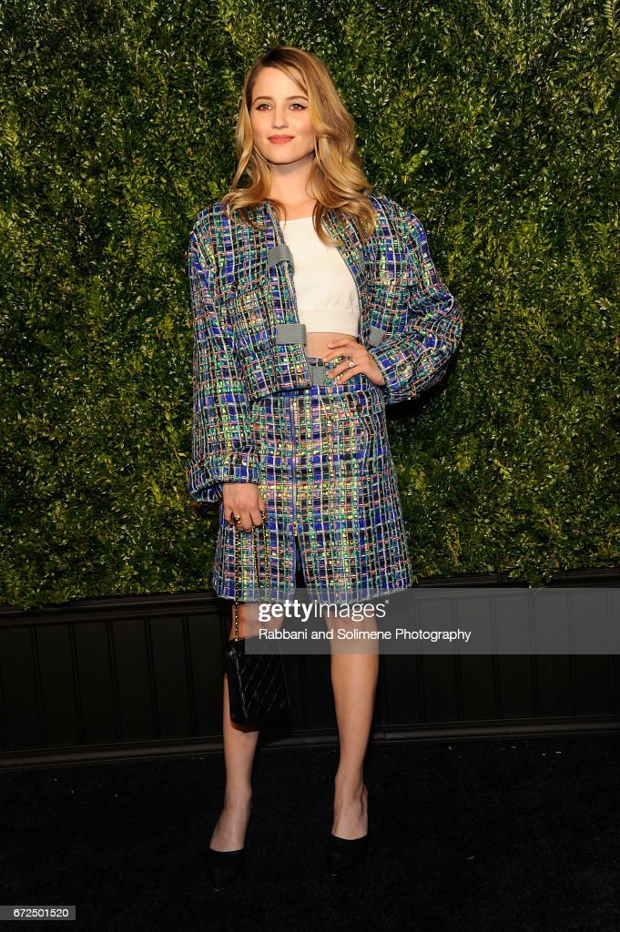 Dianna Agron attends the 2017 Tribeca Film Festival - Chanel Artists Dinner on April 24, 2017 in New York City.