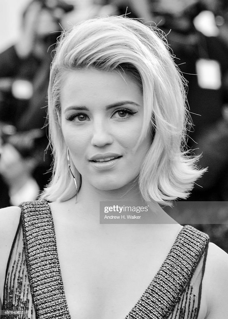 Dianna Agron attends the 'Charles James: Beyond Fashion' Costume Institute Gala at the Metropolitan Museum of Art on May 5, 2014 in New York City.