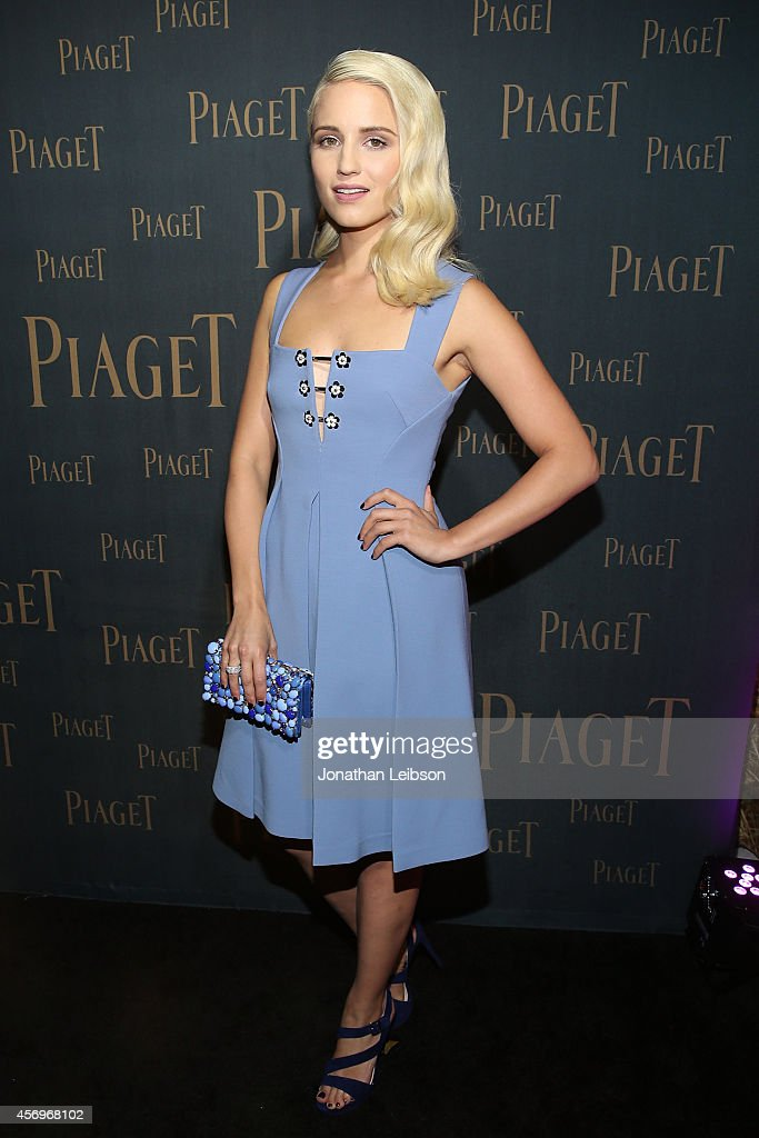 Dianna Agron attends the Extremely Piaget Launch Event on October 9 2014 in Beverly Hills California