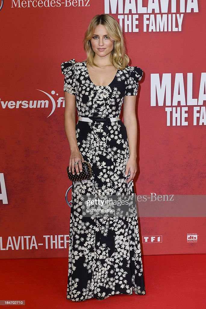 <a gi-track='captionPersonalityLinkClicked' href=/galleries/search?phrase=Dianna+Agron&family=editorial&specificpeople=4439685 ng-click='$event.stopPropagation()'>Dianna Agron</a> attends the 'Malavita' premiere at Kino in der Kulturbrauerei on October 15, 2013 in Berlin, Germany.