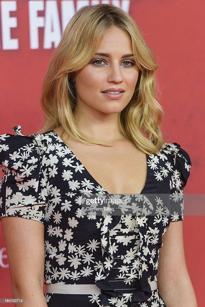 Dianna Agron attends the 'Malavita' premiere at Kino in der Kulturbrauerei on October 15, 2013 in Berlin, Germany.