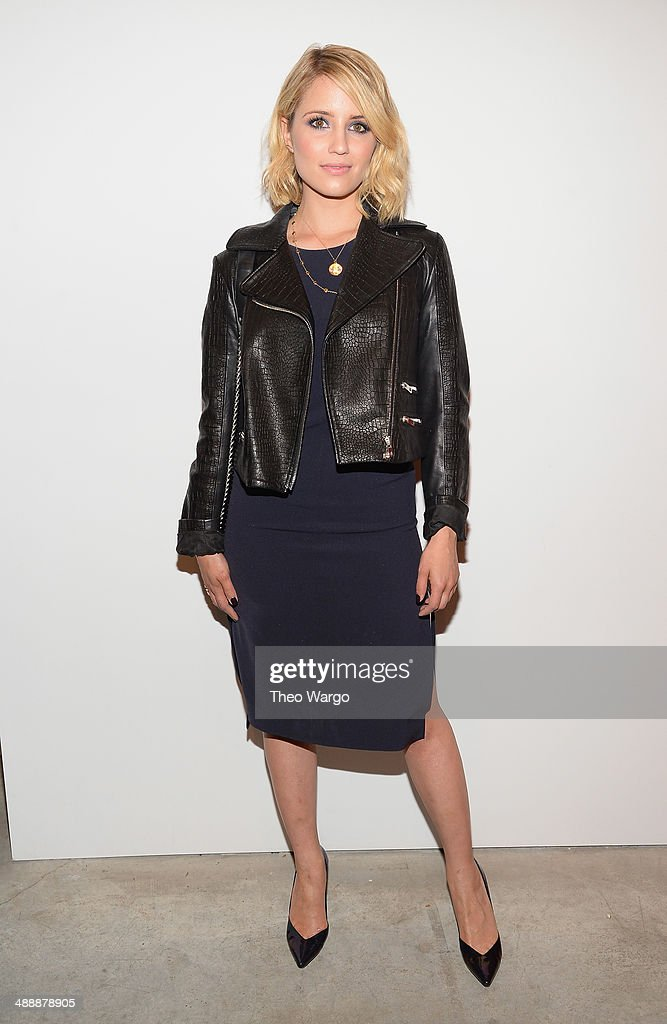 Dianna Agron attends the Narciso Rodriguez (heart) Bottletop Collection x Pepsi U.S. Launch at Sikkema Jenkins And Co. Gallery on May 8, 2014 in New York City.