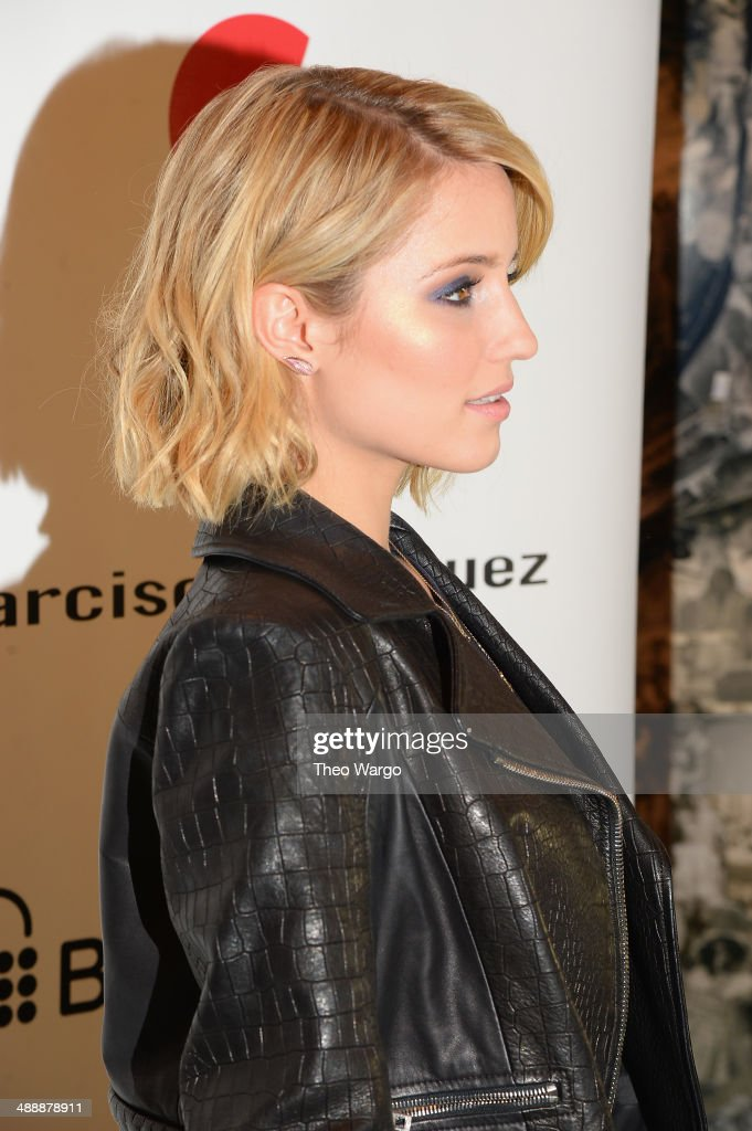 <a gi-track='captionPersonalityLinkClicked' href=/galleries/search?phrase=Dianna+Agron&family=editorial&specificpeople=4439685 ng-click='$event.stopPropagation()'>Dianna Agron</a> attends the Narciso Rodriguez (heart) Bottletop Collection x Pepsi U.S. Launch at Sikkema Jenkins And Co. Gallery on May 8, 2014 in New York City.