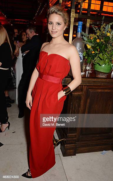 Dianna Agron attends The Weinstein Company Entertainment Film Distributor StudioCanal 2015 BAFTA After Party in partnership with Jimmy Choo GREY...