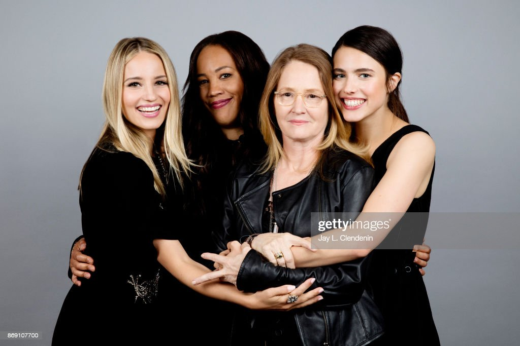 Dianna Agron, Melissa Leo, Margaret Qualley and Maggie Betts from the film 'Novitiate' poses for a portrait at the 2017 Toronto International Film Festival for Los Angeles Times on September 10, 2017 in Toronto, Ontario.