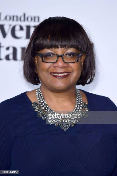 Dianne Abbott at the London Evening Standard's annual Progress 1000 in partnership with Citi and sponsored by Invisalign UK held in London PRESS...