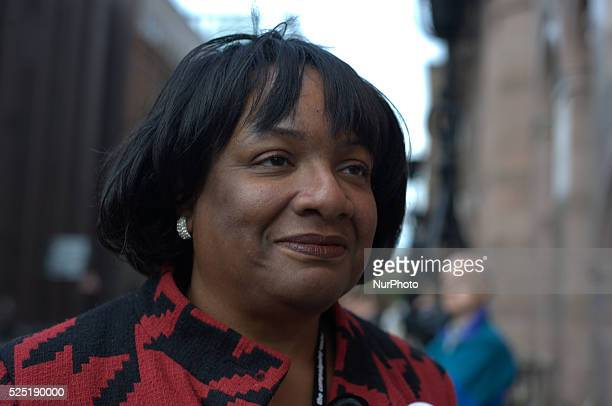 Dianne Abbott MP at the 2014 Labour Party conference in Manchester UK