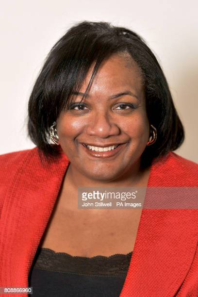 Dianne Abbott representative for Hackney North and Stoke Newington during a photocall for Labour MP's at The House of Commons Westminster