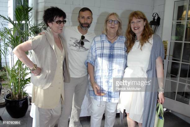 Dianne B Joseph LaPiana Lys Marigold and Jenny Lundberg attend C/O The Maidstone kicks off The Last Song of Summer for the Watermill Center at The...