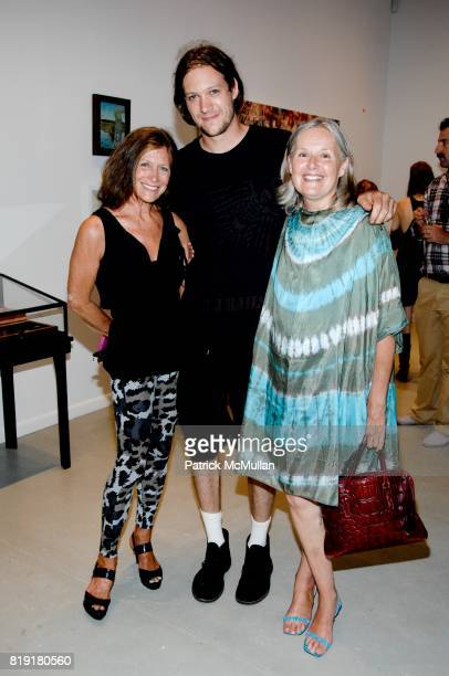 Dianne Blell Nick Cohen and Donna Cohen attend 'Hunt and Chase' Salomon Contemporary at Salomon Contemporary on July 11 2010 in East Hampton NY