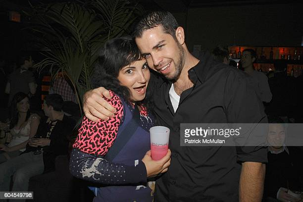 Dianne DaSilva and Marc DaVila attend MONDAY'S HARD Party for PINK Vodka and pH Advantage Skin Care at The PLUMM on November 6 2006 in New York City