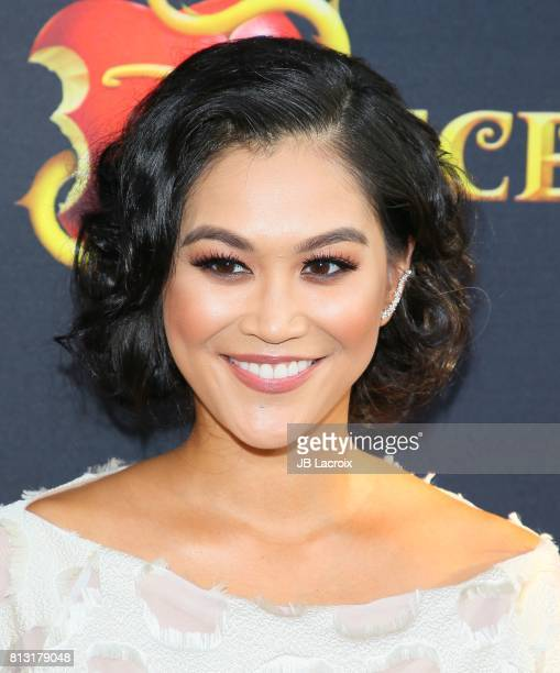 Dianne Doan attends the premiere of Disney Channel's 'Descendants 2' on July 11 2017 in Los Angeles California