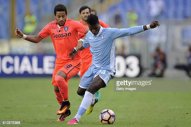 Diao Balde Keita of SS Lazio in action during the Serie A match between SS Lazio and Empoli FC at Stadio Olimpico on September 25 2016 in Rome Italy