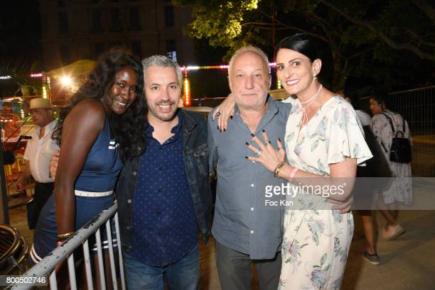 Diariata Niang Atmen Kelif Francois Berleand and Sylvie Ortega MunosÊattend La Fete des Tuileries on June 23 2017 in Paris France