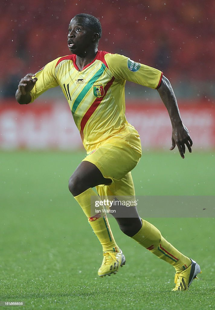 Diarra Sigamary of Mali in action during the 2013 Africa Cup of Nations Third Place Play-Off match between Mali and Ghana on February 9, 2013 in Port Elizabeth, South Africa.
