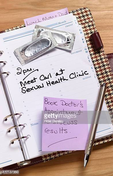 STI diary appointment