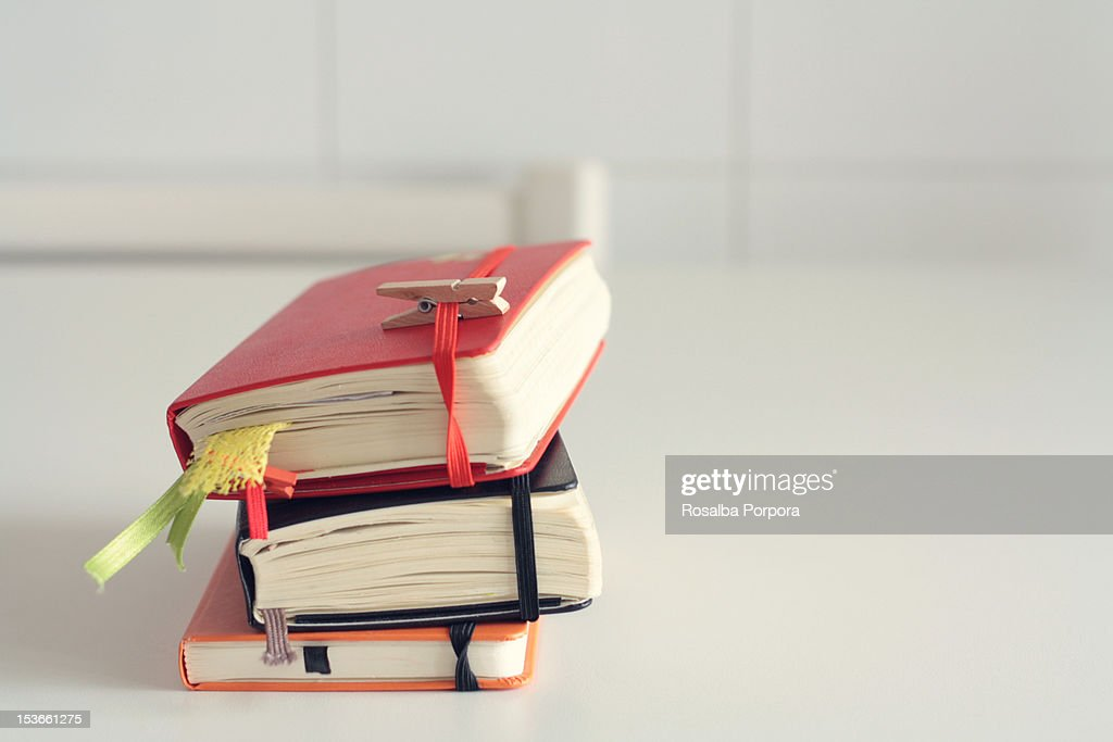 Diary : Stock Photo