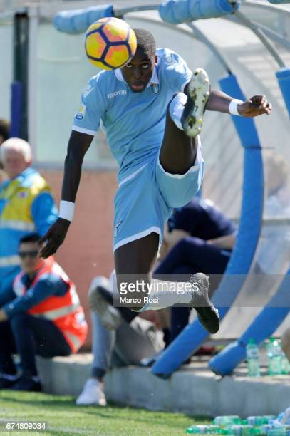 Diaye during the Primavera Tim match between SS Lazio and AC Milan at on April 29 2017 in Rome Italy