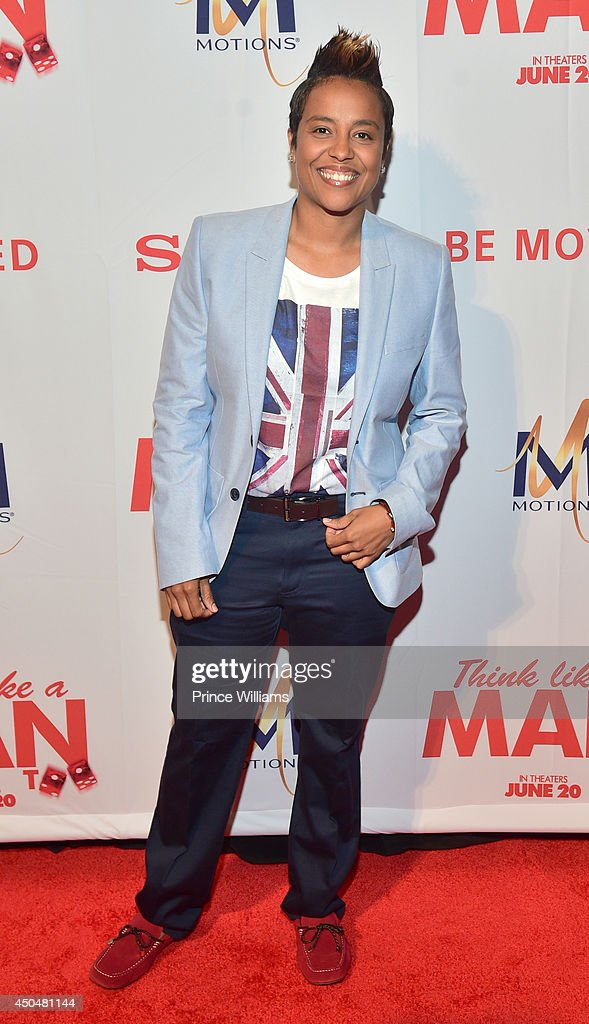 Dice Dixon attends the 'Think Like A Man Too' premiere at Regal Cinemas Atlantic Station Stadium 16 on June 11, 2014 in Atlanta, Georgia.
