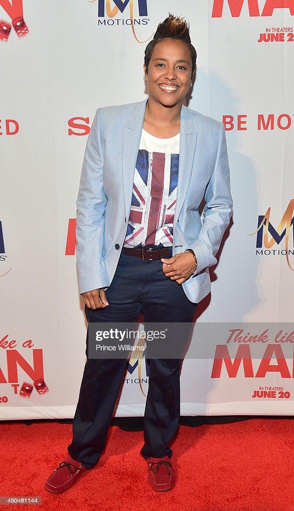 Dice Dixon attends the 'Think Like A Man Too' premiere at Regal Cinemas Atlantic Station Stadium 16 on June 11, 2014 in Atlanta, Georgia.