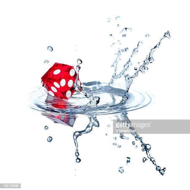 Würfel Wassersportarten auf weiss V