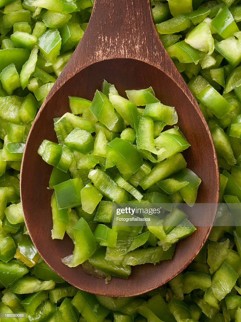 diced green pepper - photo #10
