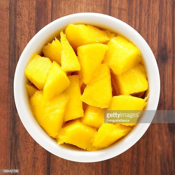 Gewürfelte mango