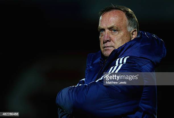 Dick Advocaat manager of Sunderland looks on during the pre Season Friendly match between Doncaster Rovers and Sunderland at Keepmoat Stadium on July...