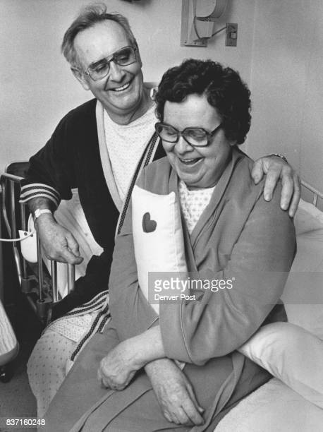 Dick and Eleanor Hammond in their Room at Mercy Hospital Dick had a bypass operation on the 11 of Jan Eleanor had hers a day earlier the 10th Eleanor...